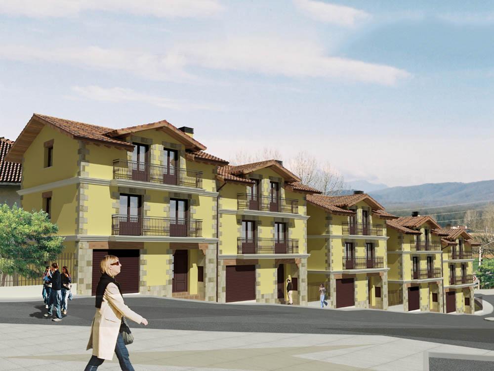 4 villas en Etxarri